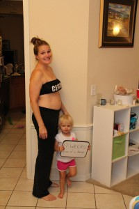 17 weeks Baby #2